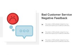Bad Customer Service Negative Feedback