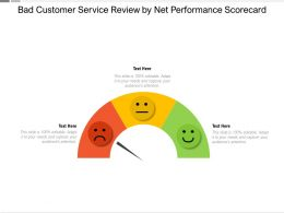 Bad Customer Service Review By Net Performance Scorecard