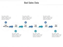 Bad Sales Data Ppt Powerpoint Presentation Pictures Graphics Design Cpb