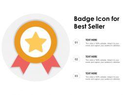 Badge Icon For Best Seller