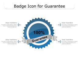 Badge Icon For Guarantee