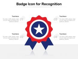 Badge Icon For Recognition