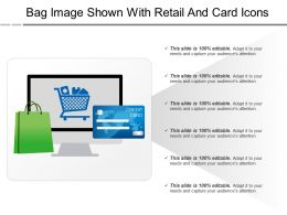 Bag Image Shown With Retail And Card Icons