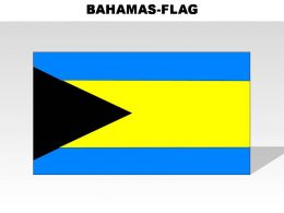 Bahamas Country Powerpoint Flags