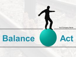 Balance Act Between Time And Money Modern Design Vector Web
