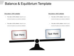 Balance And Equilibrium Template