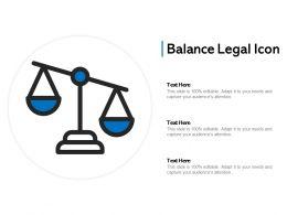 Balance Legal Icon