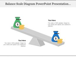 Balance Scale Diagram Powerpoint Presentation Templates 1