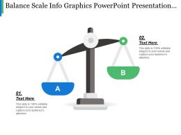 Balance Scale Info Graphics Powerpoint Presentation Templates