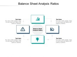 Balance Sheet Analysis Ratios Ppt Powerpoint Presentation Pictures Example Introduction Cpb