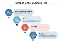 Balance Sheet Business Plan Ppt Powerpoint Presentation Show Deck Cpb