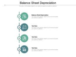 Balance Sheet Depreciation Ppt Powerpoint Presentation Professional Ideas Cpb