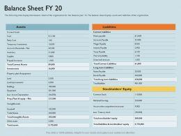 Balance Sheet FY 20 Prepaid M1791 Ppt Powerpoint Presentation Ideas Layouts