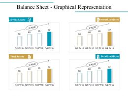 Balance Sheet Graphical Representation Good Ppt Example