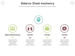 Balance Sheet Insolvency Ppt Powerpoint Presentation Pictures Background Image Cpb