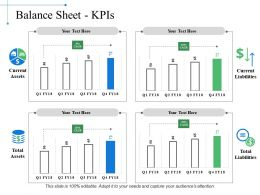 Balance Sheet Kpis Ppt Examples Slides