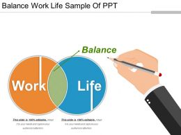 Balance Work Life Sample Of Ppt