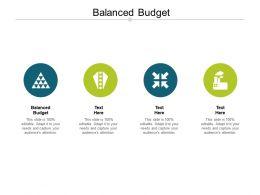 Balanced Budget Ppt Powerpoint Presentation Model Elements Cpb