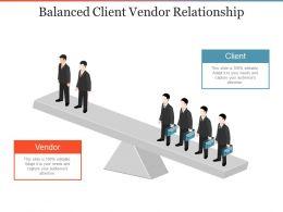 balanced_client_vendor_relationship_powerpoint_slide_images_Slide01