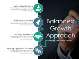 Balanced Growth Approach Powerpoint Ideas