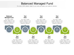 Balanced Managed Fund Ppt Powerpoint Presentation Professional Show Cpb