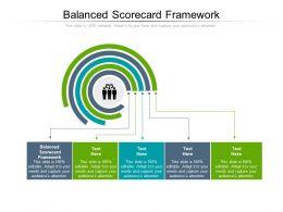 Balanced Scorecard Framework Ppt Powerpoint Presentation Model Format Ideas Cpb