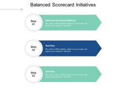 Balanced Scorecard Initiatives Ppt Powerpoint Presentation Styles Guidelines Cpb