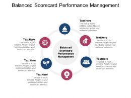 Balanced Scorecard Performance Management Ppt Powerpoint Presentation Icon Example Cpb