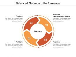 Balanced Scorecard Performance Ppt Powerpoint Presentation File Inspiration Cpb