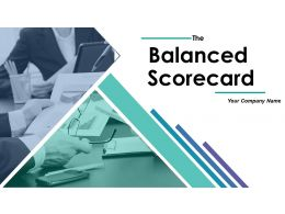 Balanced Scorecard Powerpoint Presentation Slides
