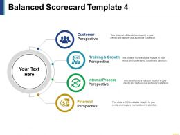 Balanced Scorecard Ppt File Graphics Template