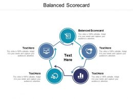 Balanced Scorecard Ppt Powerpoint Presentation Infographics Cpb