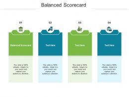 Balanced Scorecard Ppt Powerpoint Presentation Model Deck Cpb