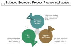 Balanced Scorecard Process Process Intelligence Process Balanced Scorecard Cpb