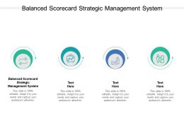 Balanced Scorecard Strategic Management System Ppt Powerpoint Aids Cpb