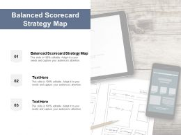 Balanced Scorecard Strategy Map Ppt Powerpoint Presentation Professional Show Cpb