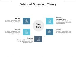 Balanced Scorecard Theory Ppt Powerpoint Presentation Infographic Template Microsoft Cpb