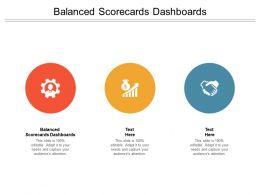 Balanced Scorecards Dashboards Ppt Powerpoint Presentation Icon Maker Cpb
