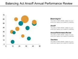 Balancing Act Ansoff Annual Performance Review Process Outsourcing Cpb