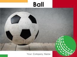 Ball Background Playing Triangular Emoticon Position Ground