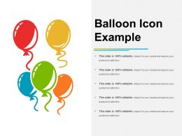 Balloon Icon Example