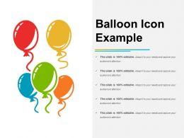Balloon Icon Example