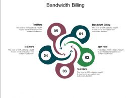 Bandwidth Billing Ppt Powerpoint Presentation Infographic Template Vector Cpb