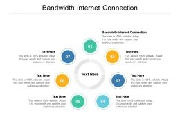 Bandwidth Internet Connection Ppt Powerpoint Presentation Gallery Designs Cpb