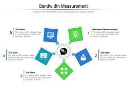 Bandwidth Measurement Ppt Powerpoint Presentation Pictures Slideshow Cpb