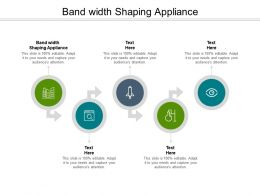 Bandwidth Shaping Appliance Ppt Powerpoint Presentation Inspiration Pictures Cpb