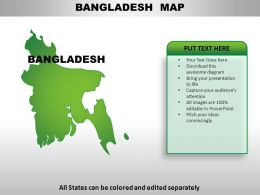 Bangladesh Country Powerpoint Maps