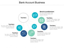 Bank Account Business Ppt Powerpoint Presentation Layouts File Formats Cpb