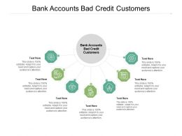 Bank Accounts Bad Credit Customers Ppt Powerpoint Presentation Outline Deck Cpb