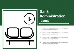 Bank Administration Icons